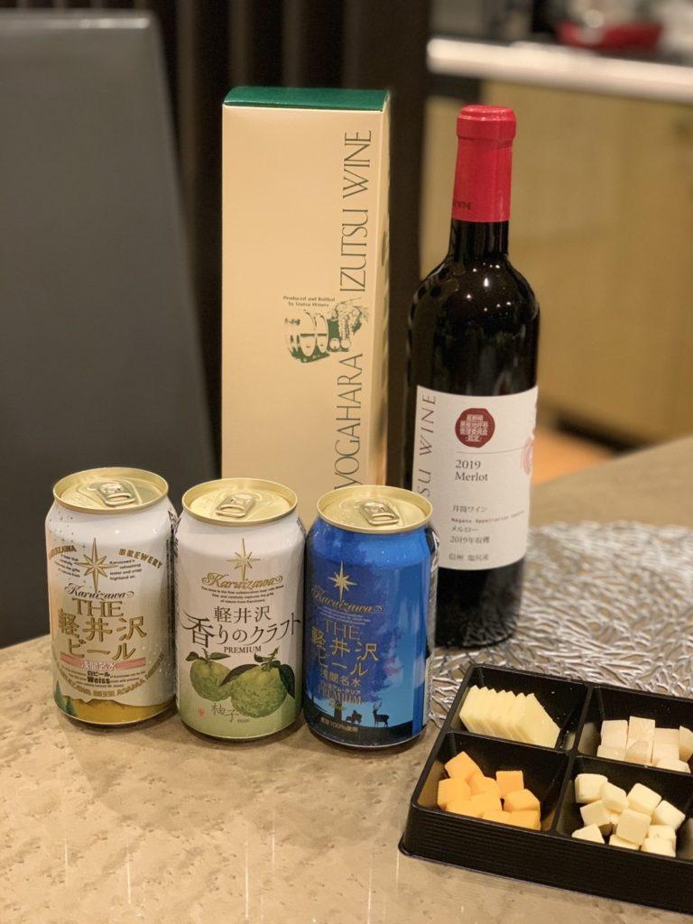 軽井沢 地ビール 貸別荘 ツルヤ